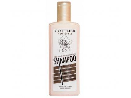 Gottlieb Pudel šampon 300ml pro pudly aprikot s makadam.olej