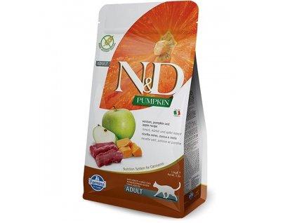 N&D Pumpkin CAT Venison & Apple 1,5kg