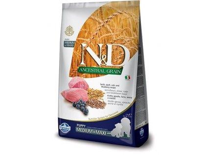 N&D Low Grain Lamb & Blueberry Puppy ML Dog
