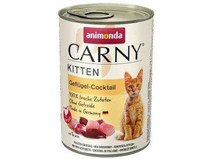 ANIMONDA konzerva CARNY Kitten drůbeží koktejl 400g