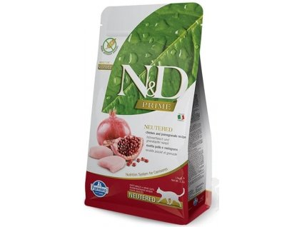 n d prime cat adult chicken pomegranate 300g