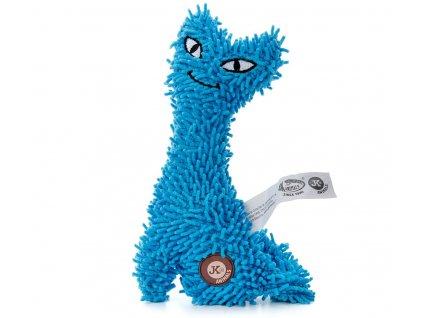jk animals plysova hracka kocka 23 cm modra 1