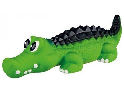 hracka pro psy trixie latexova krokodyl se zvukem 35cm original