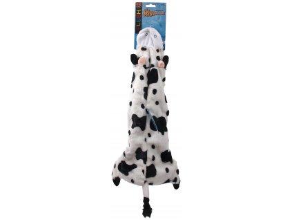 hracka dog fantasy skinneeez navlek na lahev krava 60cm original (1)