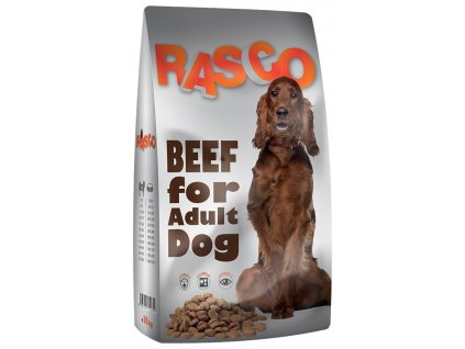krmivo rasco hovezi pro psy 10kg original