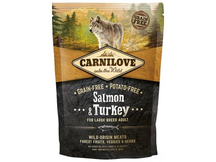 carnilove salmon turkey for large breed adult 1 5kg original