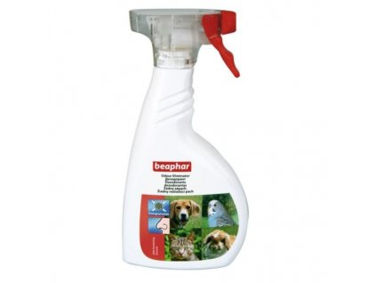 odstranovac zapachu beaphar odour killer 400 ml