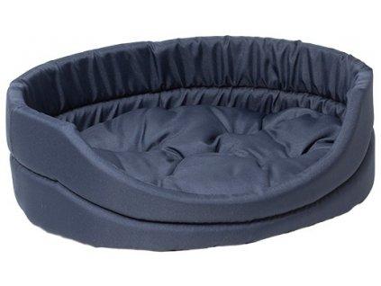 pelech dog fantasy oval s polstarem tmave modry 42cm original (1)