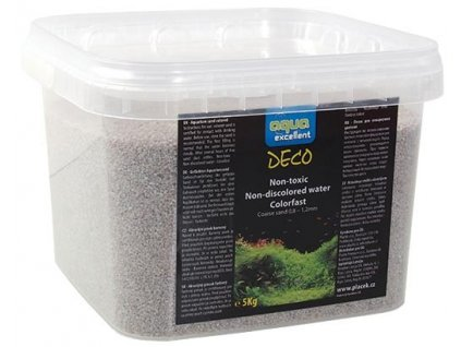 Písek AQUA EXCELLENT bílý 5 kg