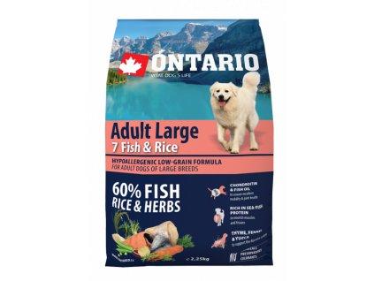 ontario adult large fish rice 2 25kg original
