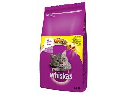4693 whiskas dry s kurecim masem 3 8 kg