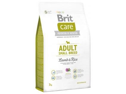 brit care adult small breed lamb rice 3kg original