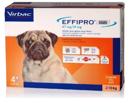 5407 effipro duo dog s 2 10 kg 4x0 67 ml