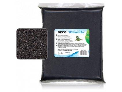 Unionstar Deco písek černý 0,7-1,2 mm, 2 kg