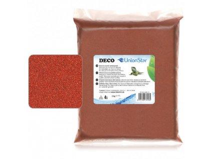 Unionstar Deco písek terakota 0,7-1,2 mm, 2 kg