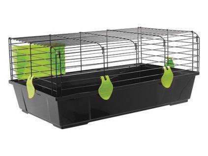 Klec SMALL ANIMAL Matěj černá se zelenou výbavou