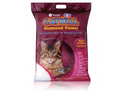 Catwill silicagel podestýlka pro kočky 16 l