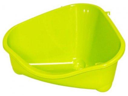 Toaleta rohová S 18,3 cm žlutá