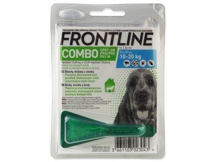 frontline combo spot on dog m 134ml1