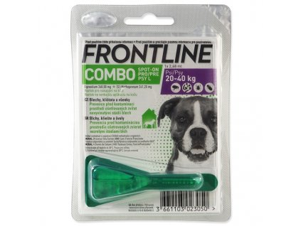 frontline combo spot on dog l 268ml