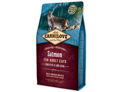 7801 carnilove cat salmon for adult sensitiv lh 2 kg