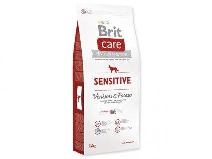 7885 brit care sensitive venison potato 12 kg