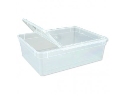 box trixie plastovy pruhledny 24 x 7 x 18 cm 3l
