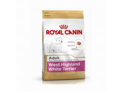 royal canin west highland terrier vestik adult 500g original