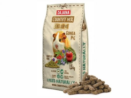 dajana country mix exclusive guinea pig 1500 g 1