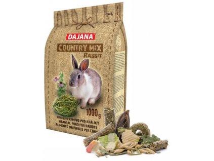 dajana country mix rabbit 1kg krmivo pro kraliky