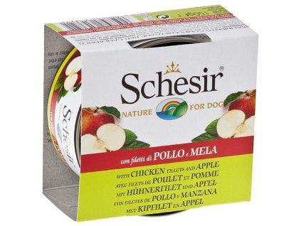 konzerva schesir fruit kureci jablko 140g original