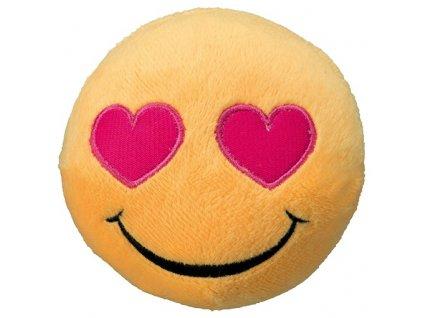 hracka smajlik heart eyes plys 9cm original