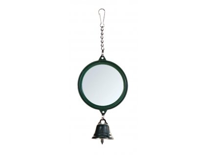 hracka pro ptaky zrcatko se zvonkem trixie 5 5 cm original