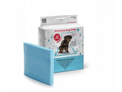 48830 jk animals premium dog pads podlozky pro stenata a psy 60 60 cm 2 ks 1