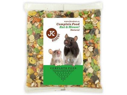 Krmivo pro potkany a myši 0,5 kg