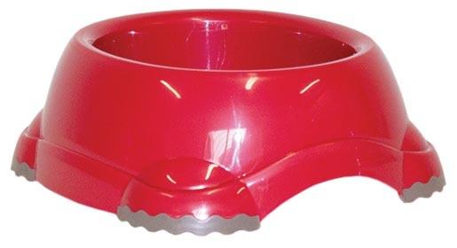 Miska DOG FANTASY plastová protiskluzová červená 735 ml