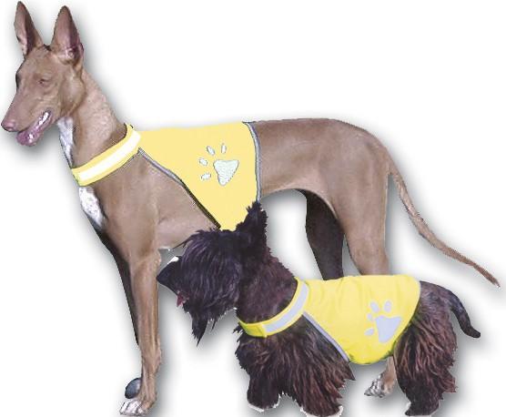 Reflexní vesta pro psy L