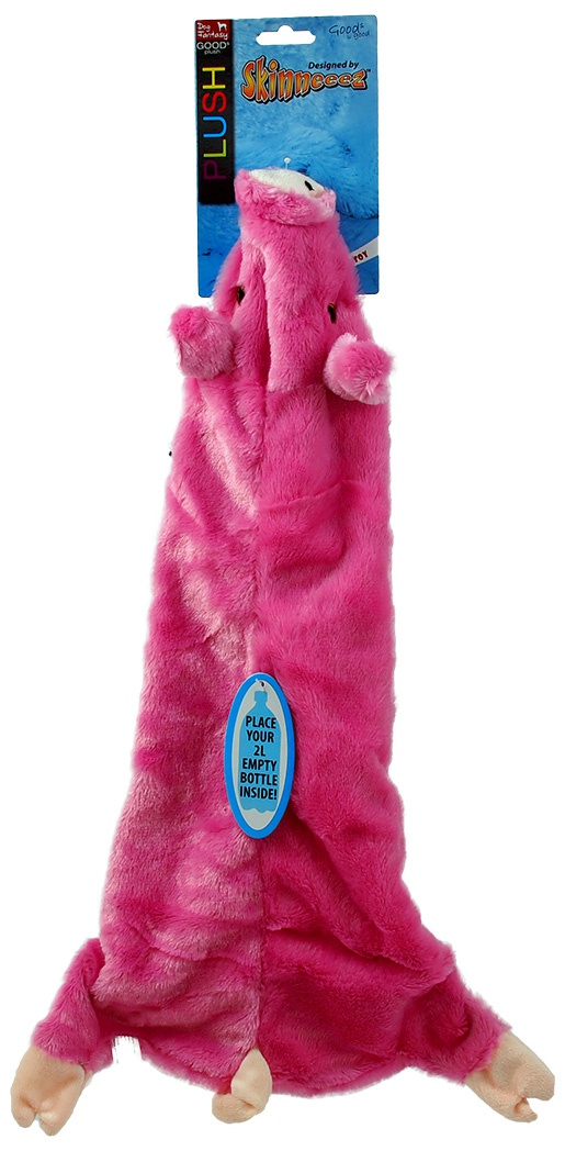 Hračka Dog Fantasy Skinneeez návlek na láhev prase 60 cm