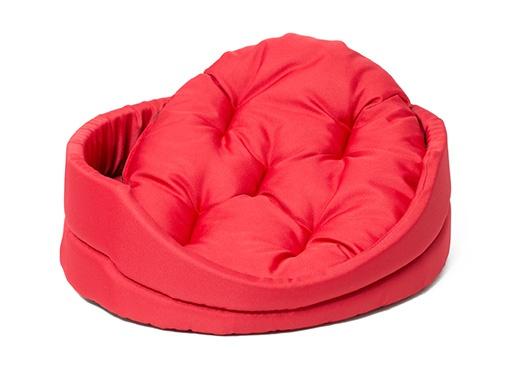 Pelech Dog Fantasy ovál s polštářem červený 48 cm