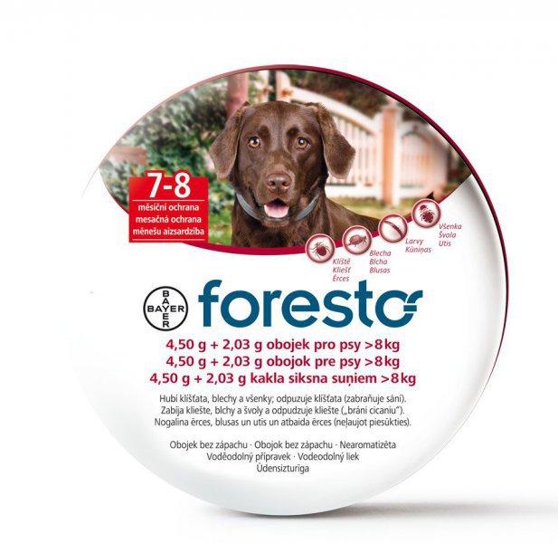 Foresto antiparazitní obojek pro velké psy 70 cm