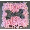 čmuchací kobereček kostička růžová L
