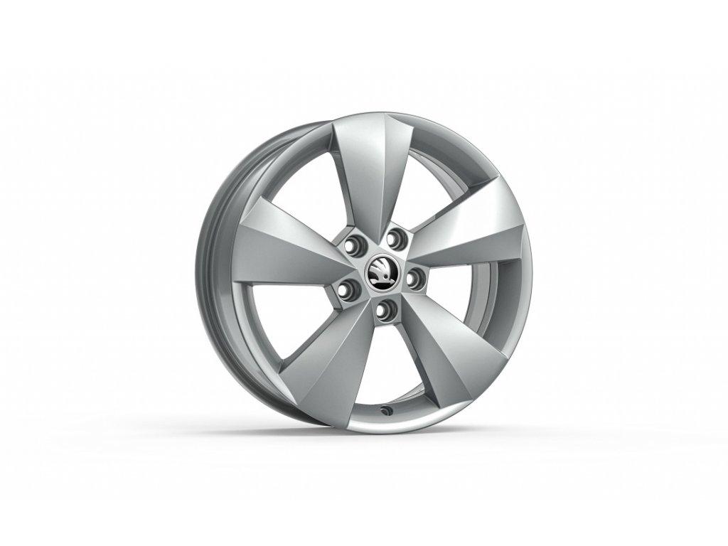 NANUQ 16 v metalické stříbrné barvě pro vozidla Karoq 57A071496A 8Z8