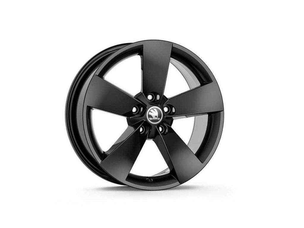 RATIKON 17 v černé metalické barvě pro vozidla Karoq 57A071497D FL8