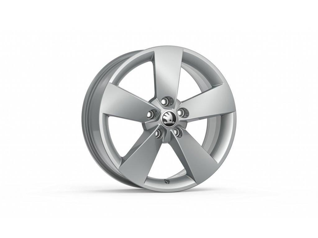 RATIKON 17 ve stříbrné barvě pro vozidla Karoq 57A071497C 8Z8