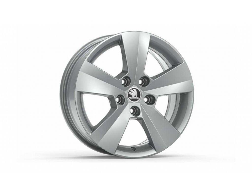 ORION 16 ve stříbrné barvě pro vozidla Superb III 3V0071496 8Z8