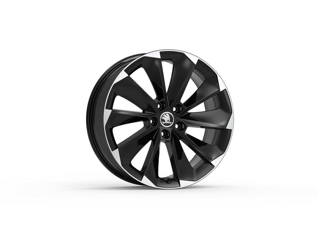 SUPERNOVA 19 v černé lesklé barvě pro vozidla Superb III 3V0071499 JX2
