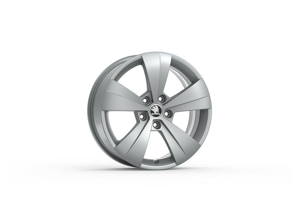 TRITON 17 ve stříbrné metalické barvě pro vozidla Superb III 3V0071497A HA7