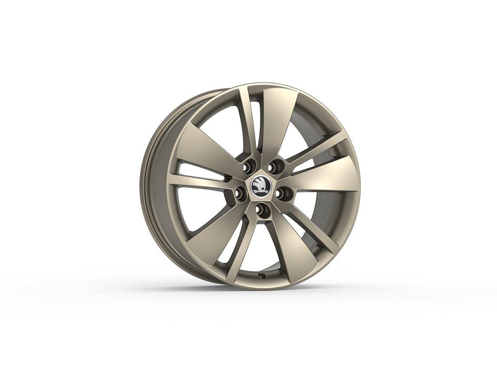 ZENITH 18 v matné platinové barvě pro vozidla Superb III 3V0071498D HZ9