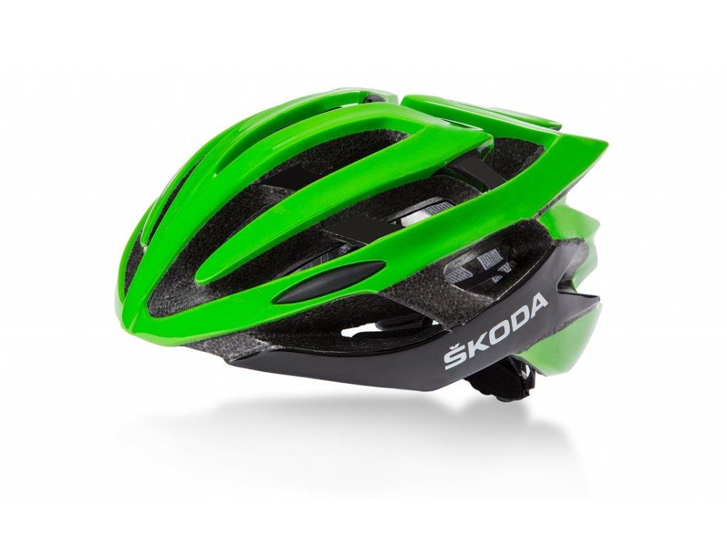 Cyklistická helma matná ŠKODA