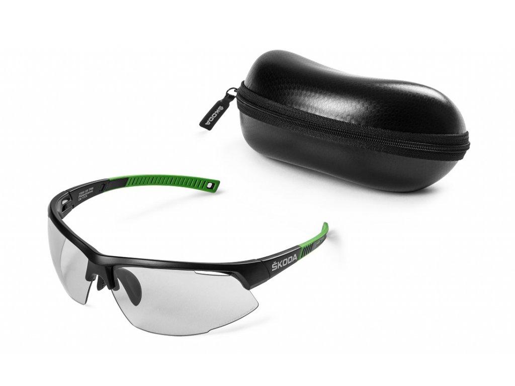 Cyklistické brýle samozabarvovací ŠKODA